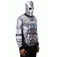 Doctor Who Cyberman Full Zip Up Hoodie