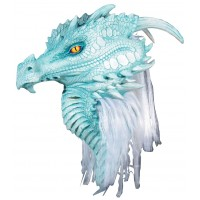 Artic Frost Dragon Premiere Mask