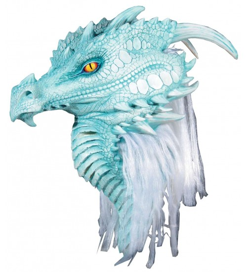 Artic Frost Dragon Premiere Mask at Scifi Collector,  Scifi Toys, Collectibles, Games | Movies, TV, Marvel, Star Wars, Star Trek, Firefly