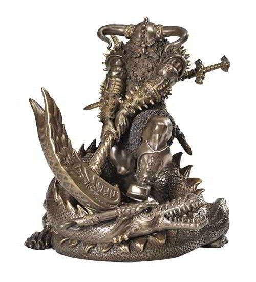 Thor, Norse God Slaying Dragon Statue at Scifi Collector,  Scifi Toys, Collectibles, Games | Movies, TV, Marvel, Star Wars, Star Trek, Firefly