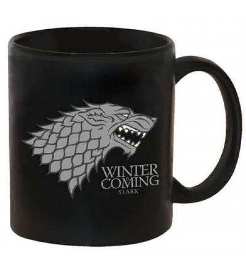 Game of Thrones Coffee Mug - Stark at Scifi Collector,  Scifi Toys, Collectibles, Games | Movies, TV, Marvel, Star Wars, Star Trek, Firefly