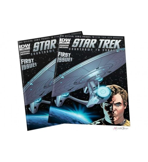 Star Trek Countdown to Darkness #1 Enterprise Edition at Scifi Collector,  Scifi Toys, Collectibles, Games | Movies, TV, Marvel, Star Wars, Star Trek, Firefly