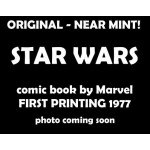 Star Wars issue 4 - 1977 Marvel First Printing, Near Mint
