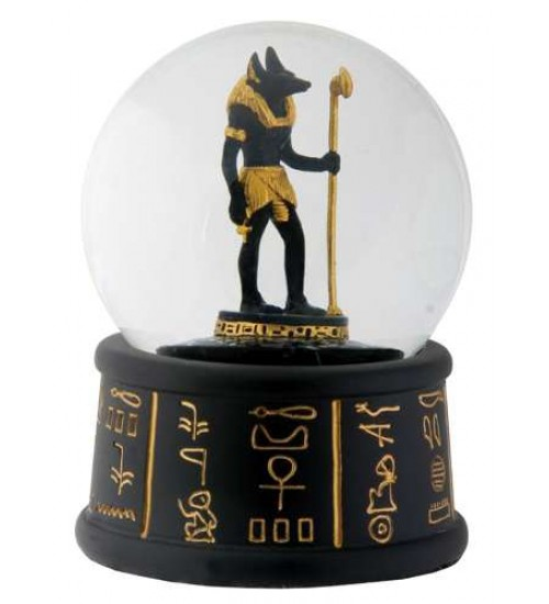 Anubis Egyptian Water Globe at Scifi Collector,  Scifi Toys, Collectibles, Games | Movies, TV, Marvel, Star Wars, Star Trek, Firefly