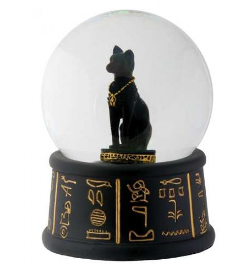 Bastet Egyptian Cat Water Globe at Scifi Collector,  Scifi Toys, Collectibles, Games   Movies, TV, Marvel, Star Wars, Star Trek, Firefly