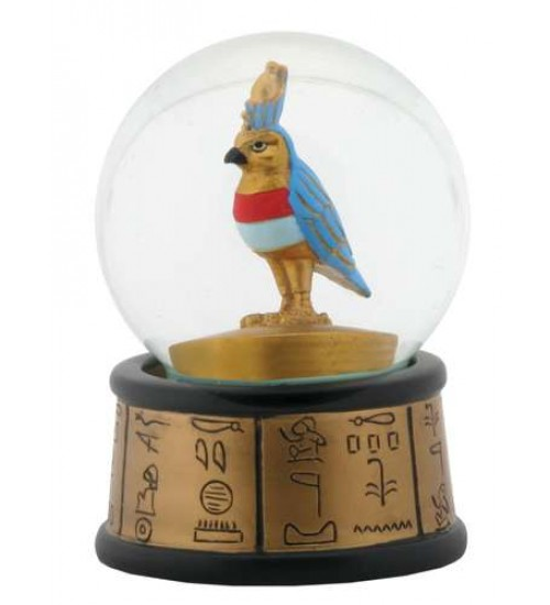 Horus Falcon God Egyptian Water Globe at Scifi Collector,  Scifi Toys, Collectibles, Games   Movies, TV, Marvel, Star Wars, Star Trek, Firefly