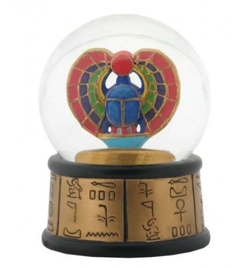 Khepri Winged Scarab Egyptian Water Globe at Scifi Collector,  Scifi Toys, Collectibles, Games | Movies, TV, Marvel, Star Wars, Star Trek, Firefly