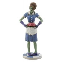Zombie Housewife Statue