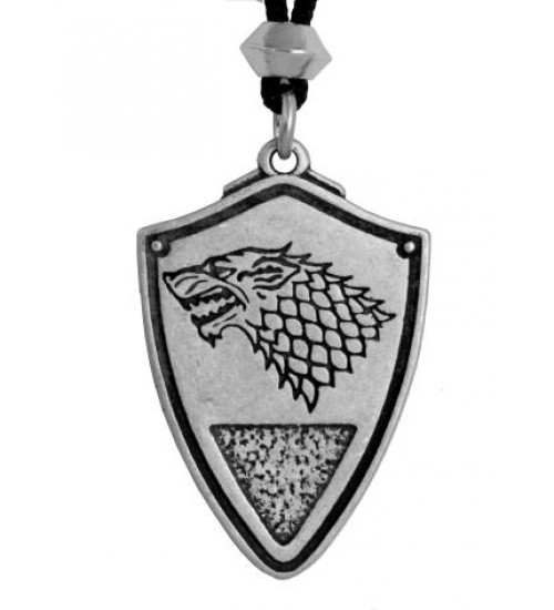 Dire Wolf: Winter is Coming Pewter Necklace at Scifi Collector,  Scifi Toys, Collectibles, Games | Movies, TV, Marvel, Star Wars, Star Trek, Firefly