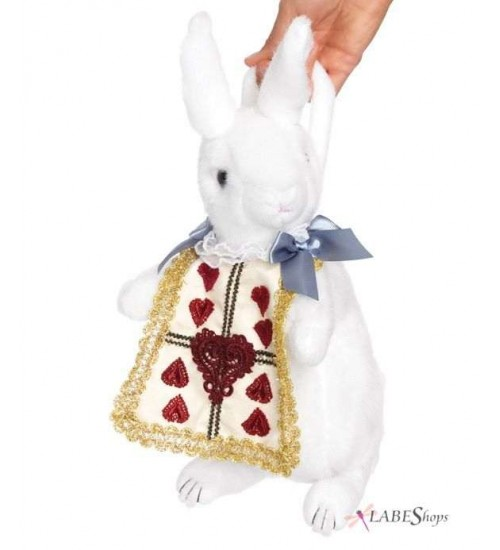 Wonderland Rabbit Plush Purse at Scifi Collector,  Scifi Toys, Collectibles, Games | Movies, TV, Marvel, Star Wars, Star Trek, Firefly