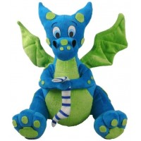 Blue Dragon Plush Toy
