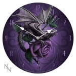 Dragon Beauty Wall Clock by Anne Stokes