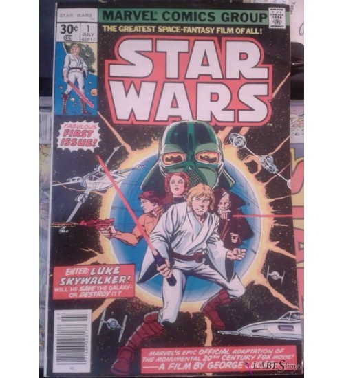 Star Wars issue 1 - 1977 Marvel First Printing, Near Mint at Scifi Collector,  Scifi Toys, Collectibles, Games | Movies, TV, Marvel, Star Wars, Star Trek, Firefly
