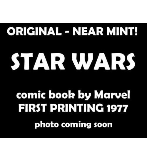 Star Wars issue 4 - 1977 Marvel First Printing, Near Mint at Scifi Collector,  Scifi Toys, Collectibles, Games | Movies, TV, Marvel, Star Wars, Star Trek, Firefly
