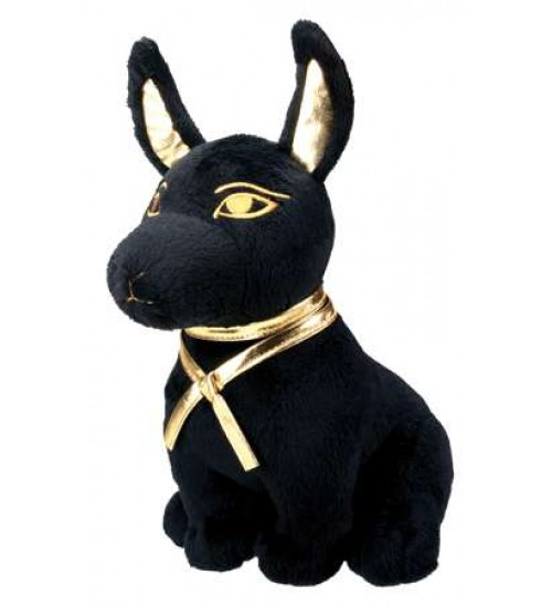 Anubis Egyptian Dog God Plushie at Scifi Collector,  Scifi Toys, Collectibles, Games | Movies, TV, Marvel, Star Wars, Star Trek, Firefly