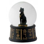 Bastet Egyptian Cat Water Globe