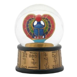 Khepri Winged Scarab Egyptian Water Globe