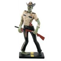 Zombie Sheriff Statue