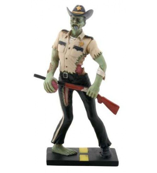 Zombie Sheriff Statue at Scifi Collector,  Scifi Toys, Collectibles, Games | Movies, TV, Marvel, Star Wars, Star Trek, Firefly