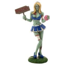 Zombie Cheerleader Statue