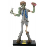 Zombie Business Man Statue