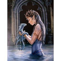 Water Dragon Canvas Art Print Scifi Collector  Scifi Toys, Collectibles, Games | Movies, TV, Marvel, Star Wars, Star Trek, Firefly