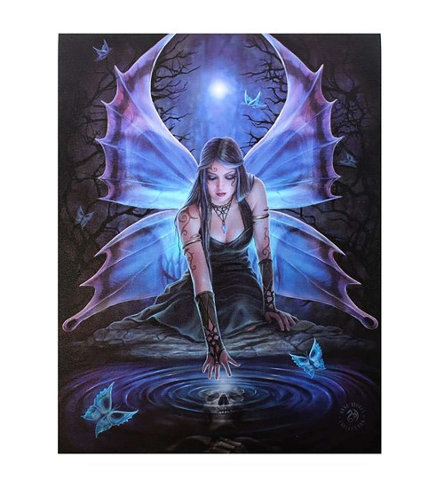Immortal Flight by Anne Stokes Canvas Art Print at Scifi Collector,  Scifi Toys, Collectibles, Games | Movies, TV, Marvel, Star Wars, Star Trek, Firefly