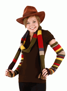 Doctor Who the Fourth Doctor Arm Warmers