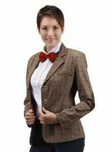 Doctor Who 11th Doctor Womens Jacket